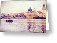 Vltava Ride Greeting Card