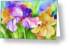 Voices Of Spring Greeting Card