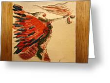 Voila - Tile Greeting Card