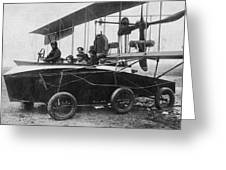 Voisin Flying Machine, 1912 Greeting Card