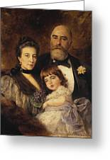 Volkov Manzei Family Makarov. 1890 Greeting Card