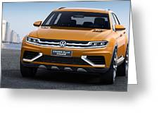 Volkswagen Crossblue Greeting Card