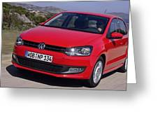 Volkswagen Polo Greeting Card