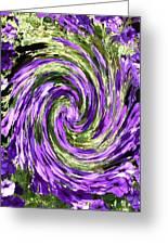 Vortex Abstract Art No. 14 Greeting Card