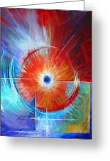 Vortex Greeting Card by James Christopher Hill