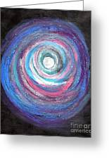 Vortex Of Love 2 Light Is Wave And Particle Greeting Card