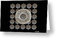 Vortex Stargate Greeting Card