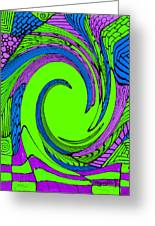 Vortex Greeting Card