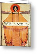 Votes For Women, 1911 Greeting Card