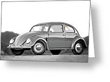 Vw 66 Greeting Card