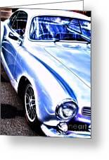 Vw Vintage Sports Car Greeting Card