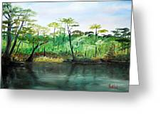 Waccamaw River - Impressionist Greeting Card