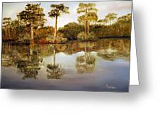 Waccamaw River Greeting Card