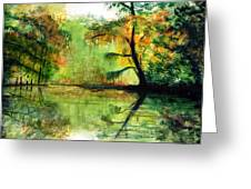 Waccamaw River Sc Greeting Card