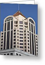 Wachovia Tower Roanoke Virginia Greeting Card