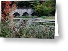 Wachusett Aquaduct Greeting Card