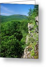 Wachusett Mountain From Crow Hill Greeting Card
