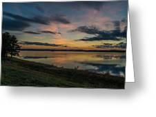 Wachusett Reservoir  Greeting Card