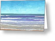 Wading Surf Greeting Card