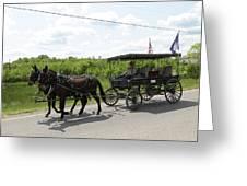 Wagon 9 Greeting Card