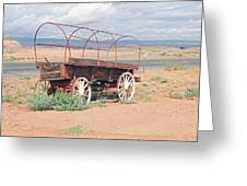 Wagon Of The West Greeting Card
