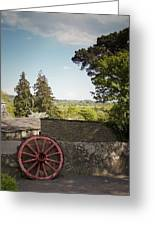 Wagon Wheel County Clare Ireland Greeting Card