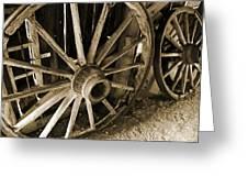 Wagon Wheels 3 Greeting Card