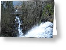 Wah Gwin Gwin Falls 1 Greeting Card