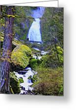 Wahkeena Falls Greeting Card
