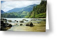 Waikoko On Kauai Greeting Card