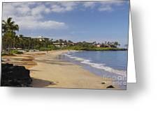 Wailea Beach Greeting Card