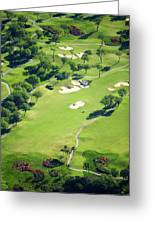 Wailea Gold And Emerald Courses Greeting Card by Ron Dahlquist - Printscapes