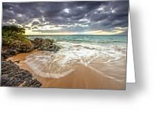 Wailea Sunset From Maui Greeting Card