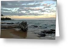 Wailua Bay  Greeting Card