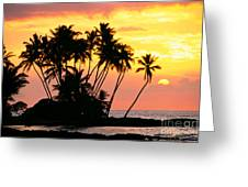 Wailua Bay, View Greeting Card