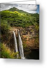 Wailua Falls Kauai I Greeting Card