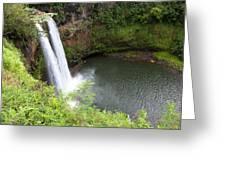 Wailua Falls, Kauai Greeting Card