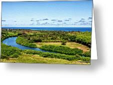 Wailua River Greeting Card