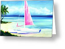 Waimanalo Beach #187 Greeting Card