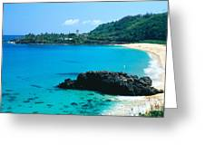 Waimea Bay Greeting Card