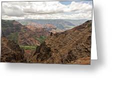 Waimea Canyon 4 Greeting Card