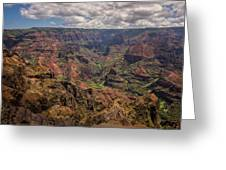 Waimea Canyon 7 - Kauai Hawaii Greeting Card