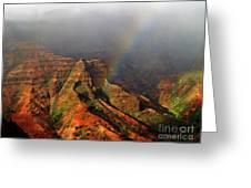 Waimea Canyon I Greeting Card