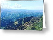 Waimea Canyon, Kauai Greeting Card