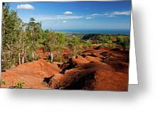 Waimea Canyon Greeting Card