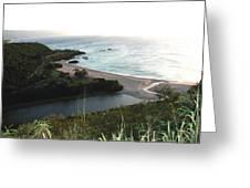 Waimea River And Bay Greeting Card