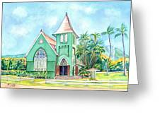 Wai'oli Hui'ia Church Greeting Card