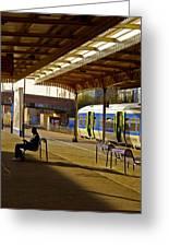 Waitin' For The Train Greeting Card