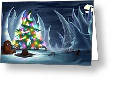 Waiting For Christmas Greeting Card