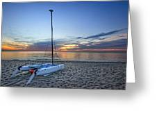 Waiting For Sunrise Greeting Card